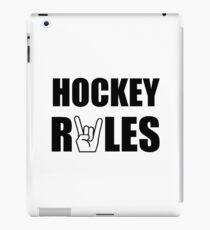 Hockey Rules iPad Case/Skin