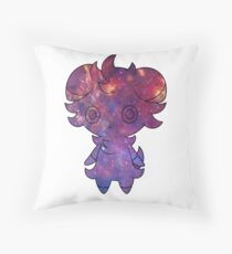 Espurr sees ALL Throw Pillow