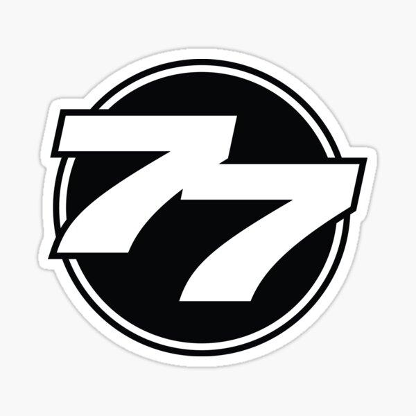 77 El Deora -77 Drumhead Logo Sticker