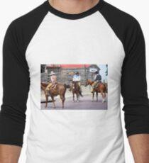 Cattle Drive 9 Men's Baseball ¾ T-Shirt