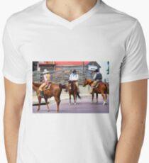 Cattle Drive 10 Mens V-Neck T-Shirt