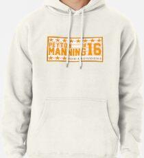 Peyton Manning para el presidente Campaign Sticker Sudadera con capucha