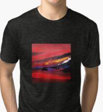 Abstract Sunset Tri-blend T-Shirt