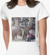 Cattle Drive 15 Womens Fitted T-Shirt