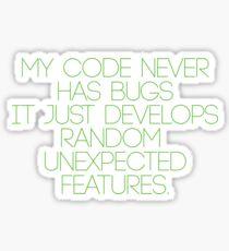 No bugs Sticker