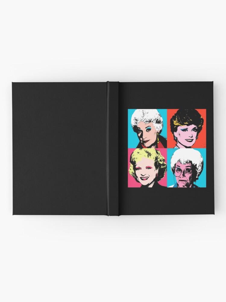 Alternate view of Golden Warhol Girls Hardcover Journal