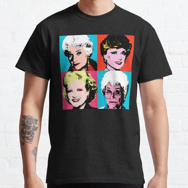 Golden Warhol Girls Classic T-Shirt