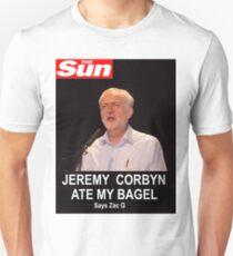 Jeremy Corbin Ate My Bagel T-Shirt