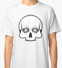 Defy Danger Skull - White Classic T-Shirt