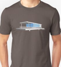 Farnsworth House - Ludwig Mies van der Rohe (1951) Unisex T-Shirt