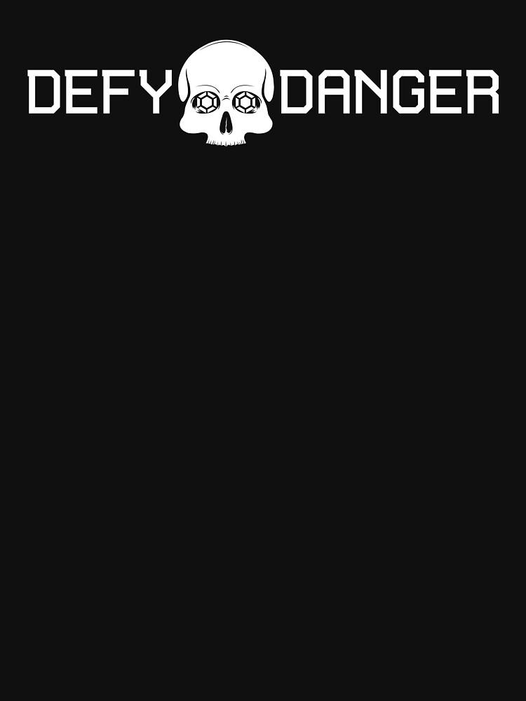 Defy Danger Logo - Black by defydanger