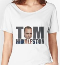 Tom Hiddleston Women's Relaxed Fit T-Shirt