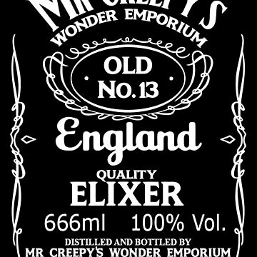Mr Creepy's Quality Elixir by Noctography