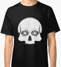 Defy Danger Skull - Black Classic T-Shirt