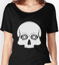 Defy Danger Skull - Black Women's Relaxed Fit T-Shirt