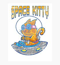 SPACE KITTY Photographic Print
