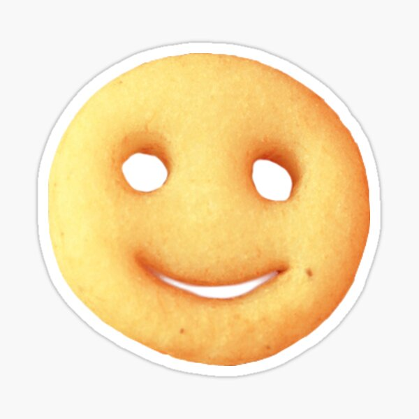 potato smiley Sticker