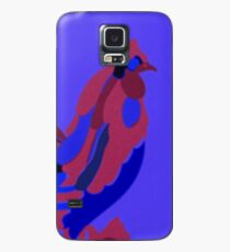 Rooster Abstract Art Blue iPad Cover Case/Skin for Samsung Galaxy