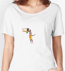 Miley Dunks Women's Relaxed Fit T-Shirt