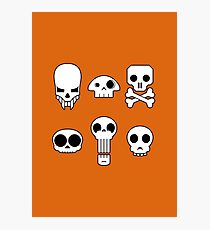 All skulls, all the time. Photographic Print