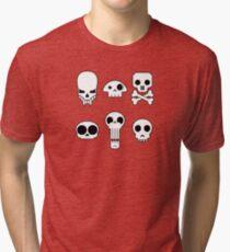 All skulls, all the time. Tri-blend T-Shirt