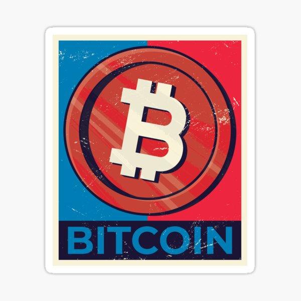 Bitcoin Crypto Sticker