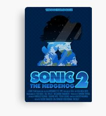 Sonic The Hedgehog 2 Canvas Print