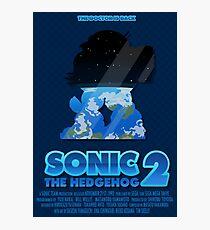 Sonic The Hedgehog 2 Photographic Print