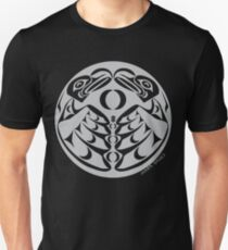 Coast Salish Eagle Slim Fit T-Shirt