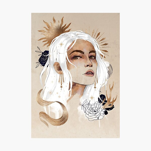 Celestial Alina Photographic Print