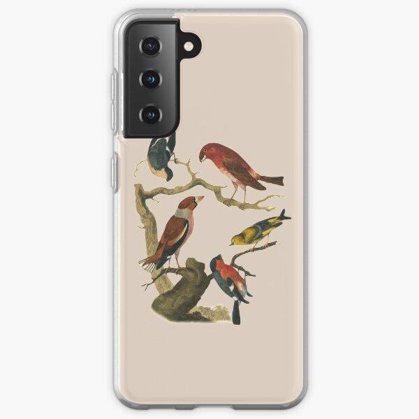Vintage bird collection  Samsung Galaxy Soft Case