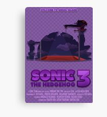 Sonic The Hedgehog 3 Canvas Print