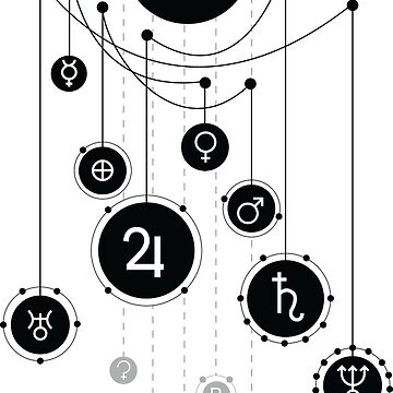 Solar System by trapezedevil