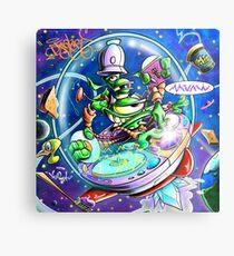 Yedi Fresh ( JELLYFISH LAZER FACE ) Metal Print