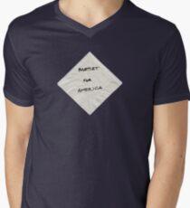 President Bartlet's Campaign Starter! Men's V-Neck T-Shirt