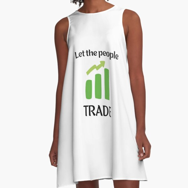 Let the People Trade A-Line Dress