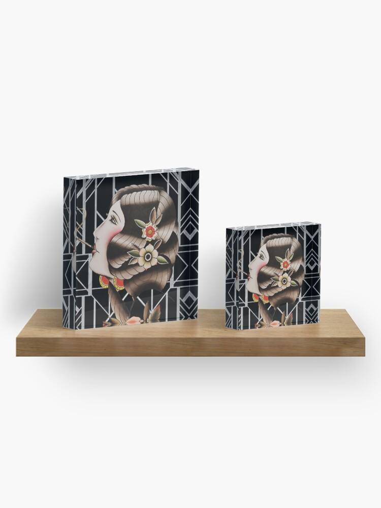 Alternate view of The Art Of Bee 1 Acrylic Block