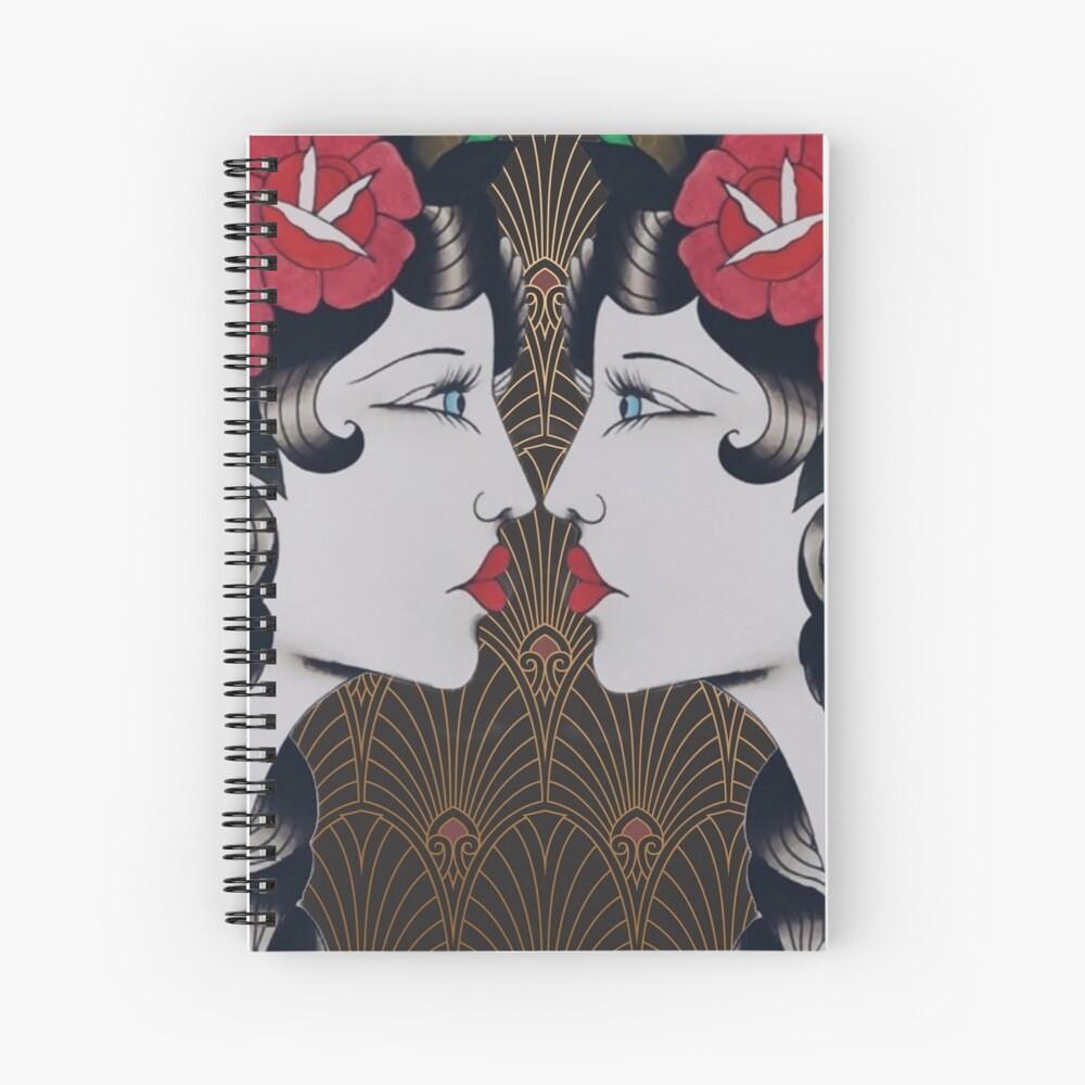 The Art Of Bee 2 Spiral Notebook