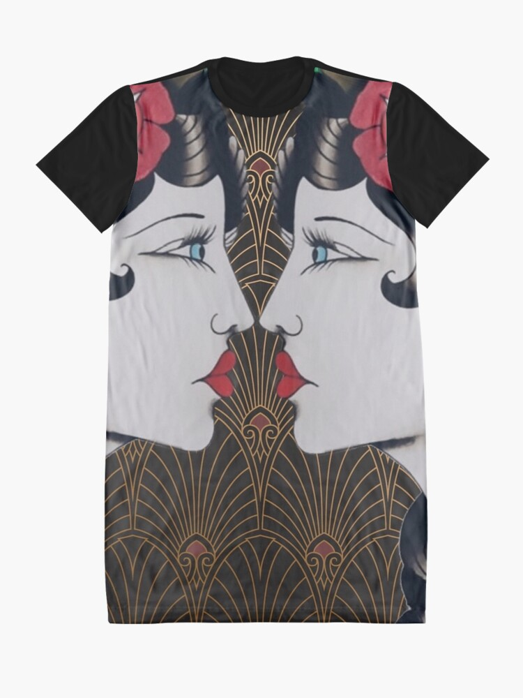Alternate view of The Art Of Bee 2 Graphic T-Shirt Dress