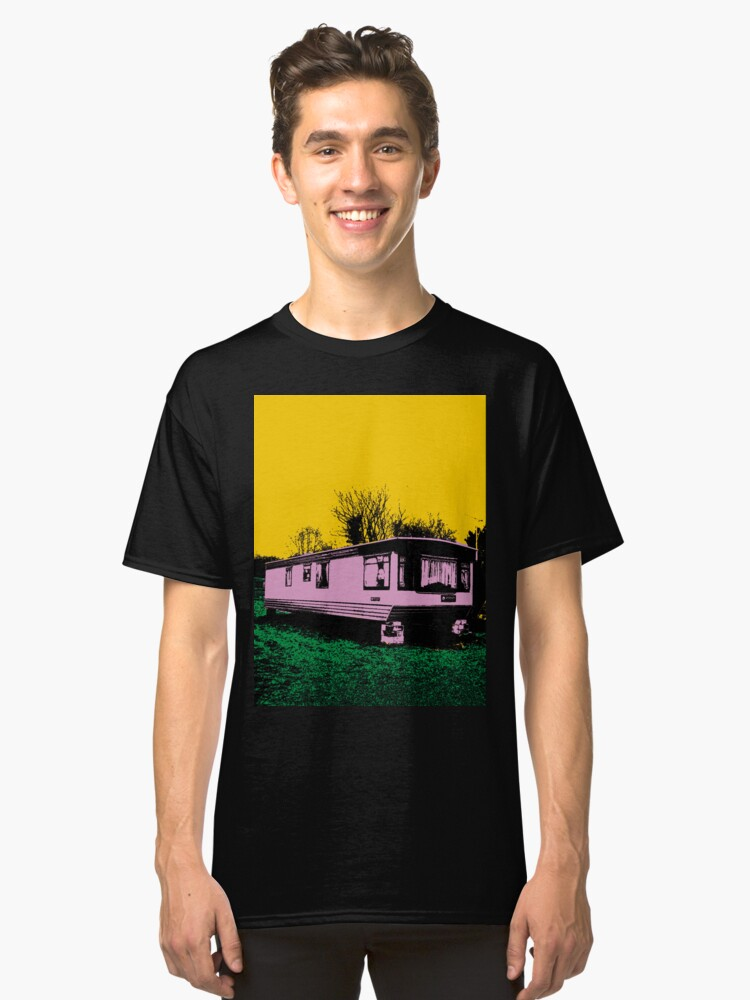 Pink Trailer Classic T-Shirt Front