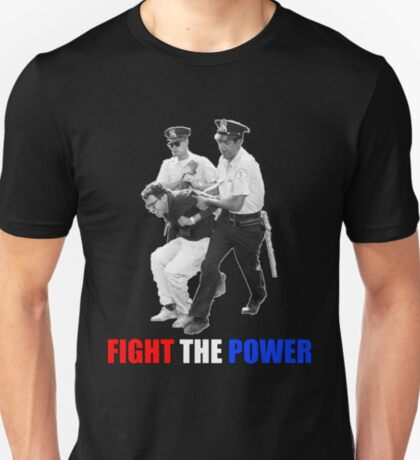FIGHT THE POWER Bernie Sanders Arrested T-Shirt