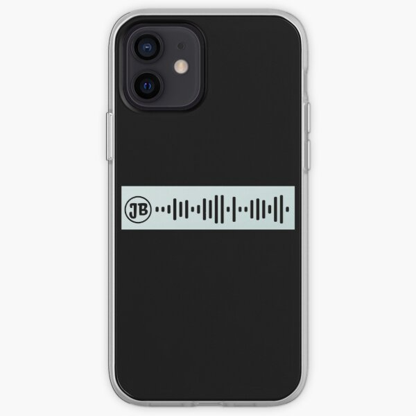 Intentions Spotify Code Funda blanda para iPhone