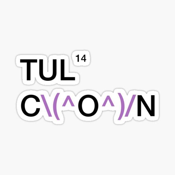 TULCON14 Logo: \(^O^)/ Sticker