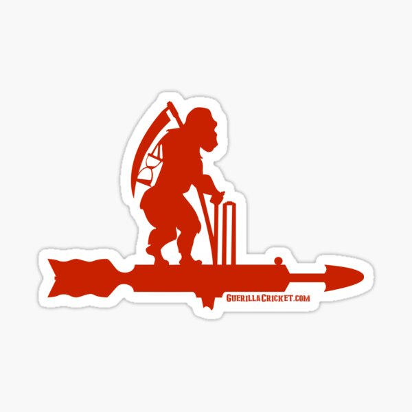 Old Father Guerilla Red Sticker