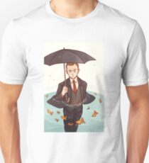 Living in a world of goldfish Unisex T-Shirt
