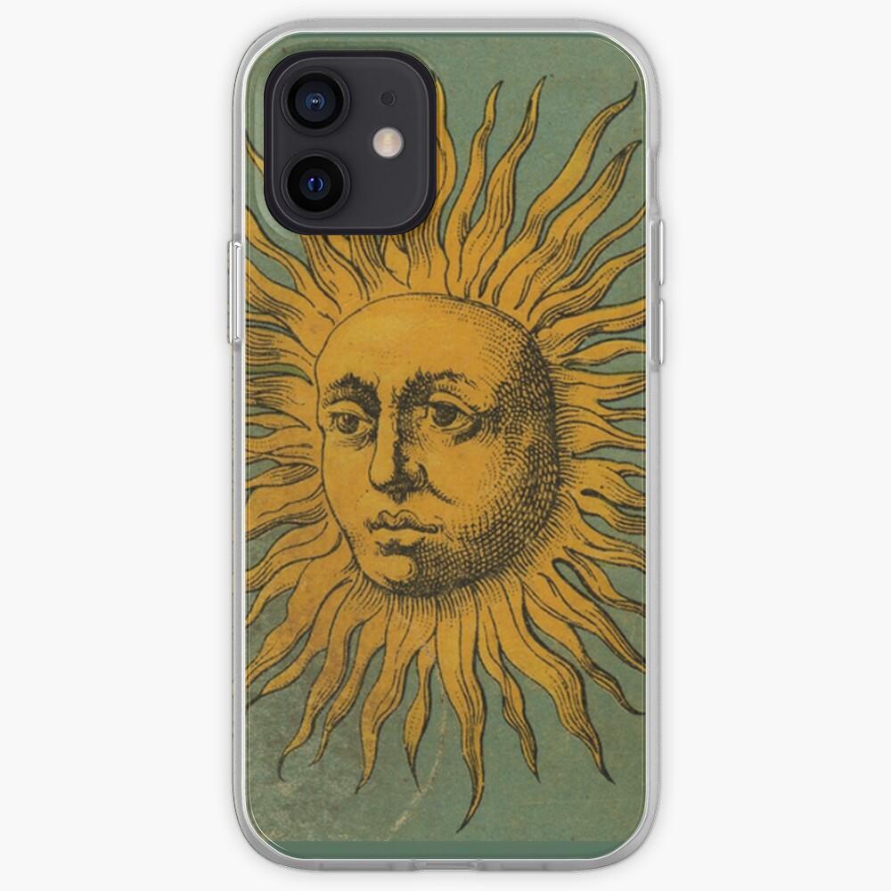 Vintage Sun Tarot iPhone Case & Cover