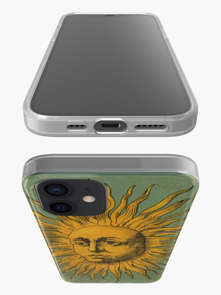 Alternate view of Vintage Sun Tarot iPhone Case & Cover