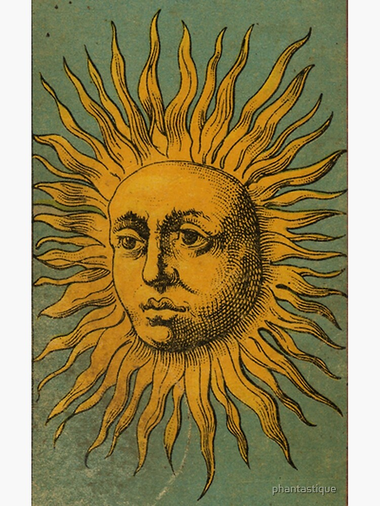 Vintage Sun Tarot by phantastique