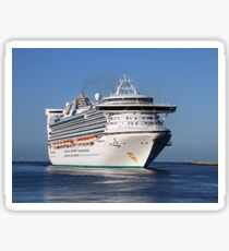 Golden Princess cruise ship Sticker