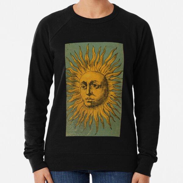 Vintage Sun Tarot Lightweight Sweatshirt